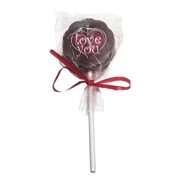 sucette chocolat st valentin