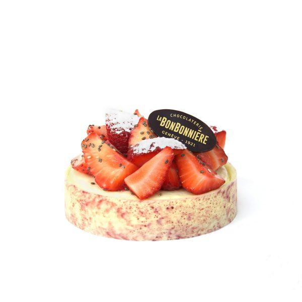 Tarte aux fraise - Dessert Geneve