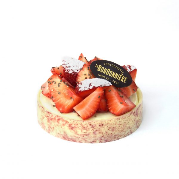 Tarte aux fraise - Dessert Geneve patisserie