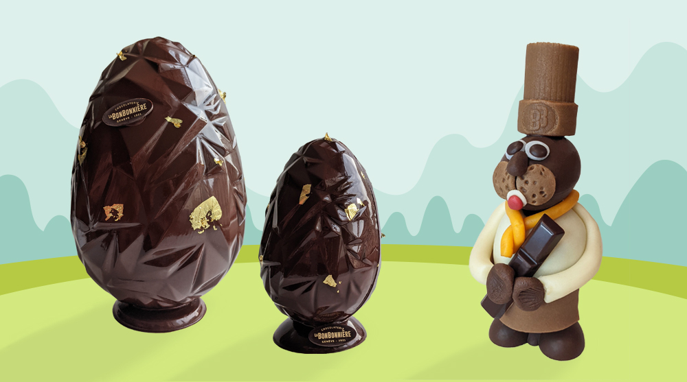 paques chocolats la bonbonniere