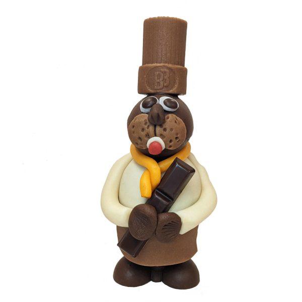 lapin chocolat toqué la bonbonnière