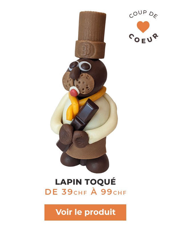 lapin toque chocolat