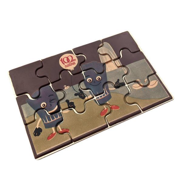 puzzle en chocolat